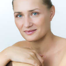 intensive skin care - girl's picture