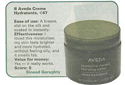 Aveda Skin care test by Irish Examiner