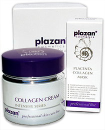 Plazan Collagen Cream and Professional Mask image
