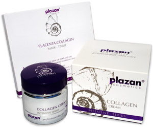 Plazan Collagen Cream and Mask image